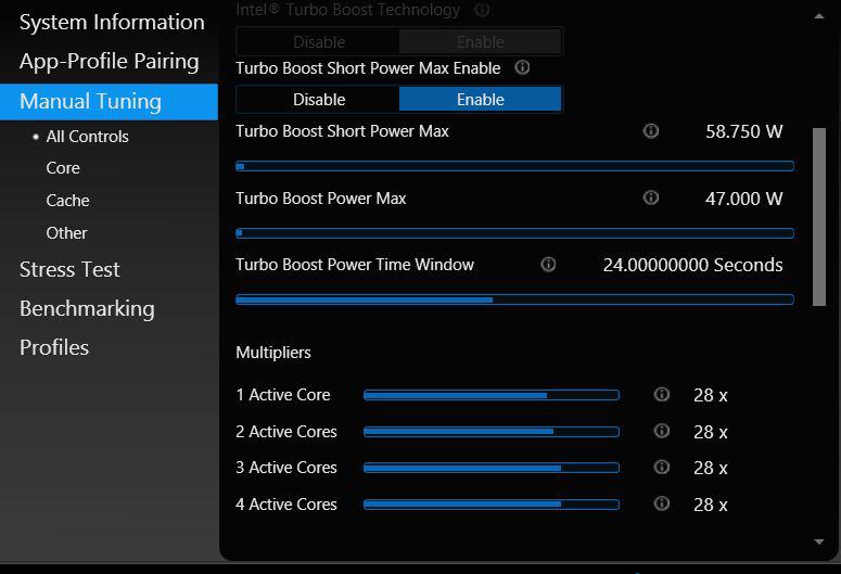 intel extreme tuning utility скачать