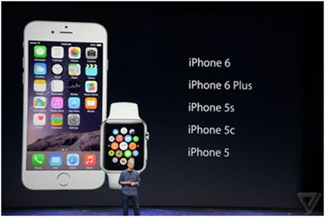 Презентация iPhone 6, iPhone 6 Plus и Apple Watch