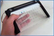 Grippity: планшет с прозрачным экраном